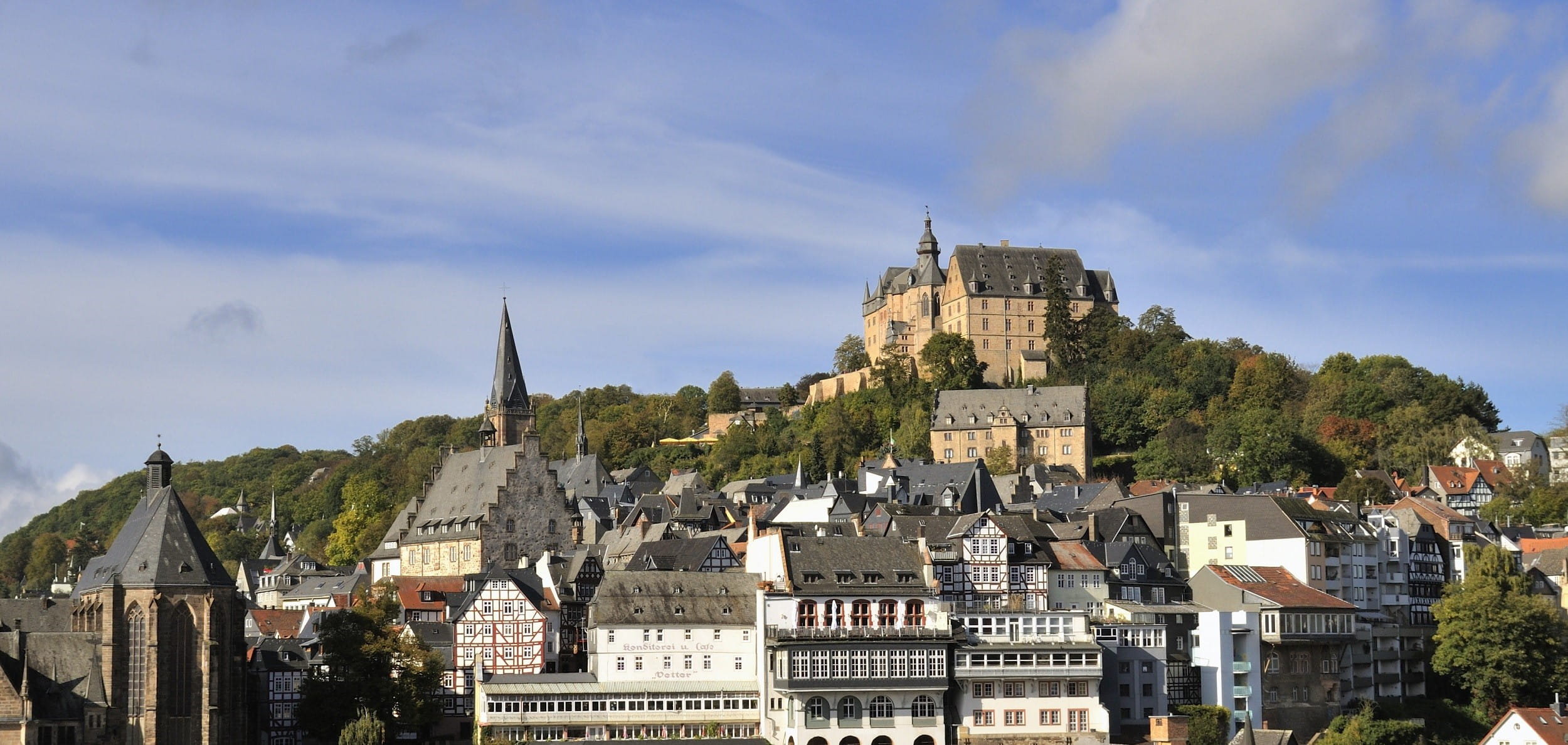 Marburg Germany Panorama Photo