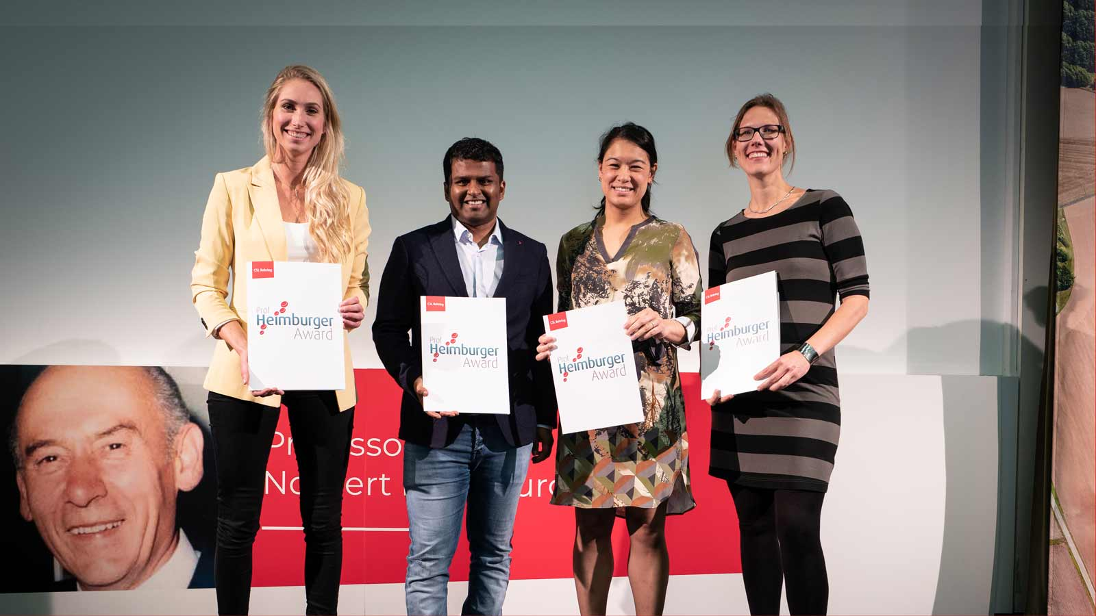 Die Gewinner des Heimburger Awards 2019