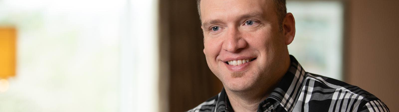 Hämophilie-A-Patient Jesse Schrader