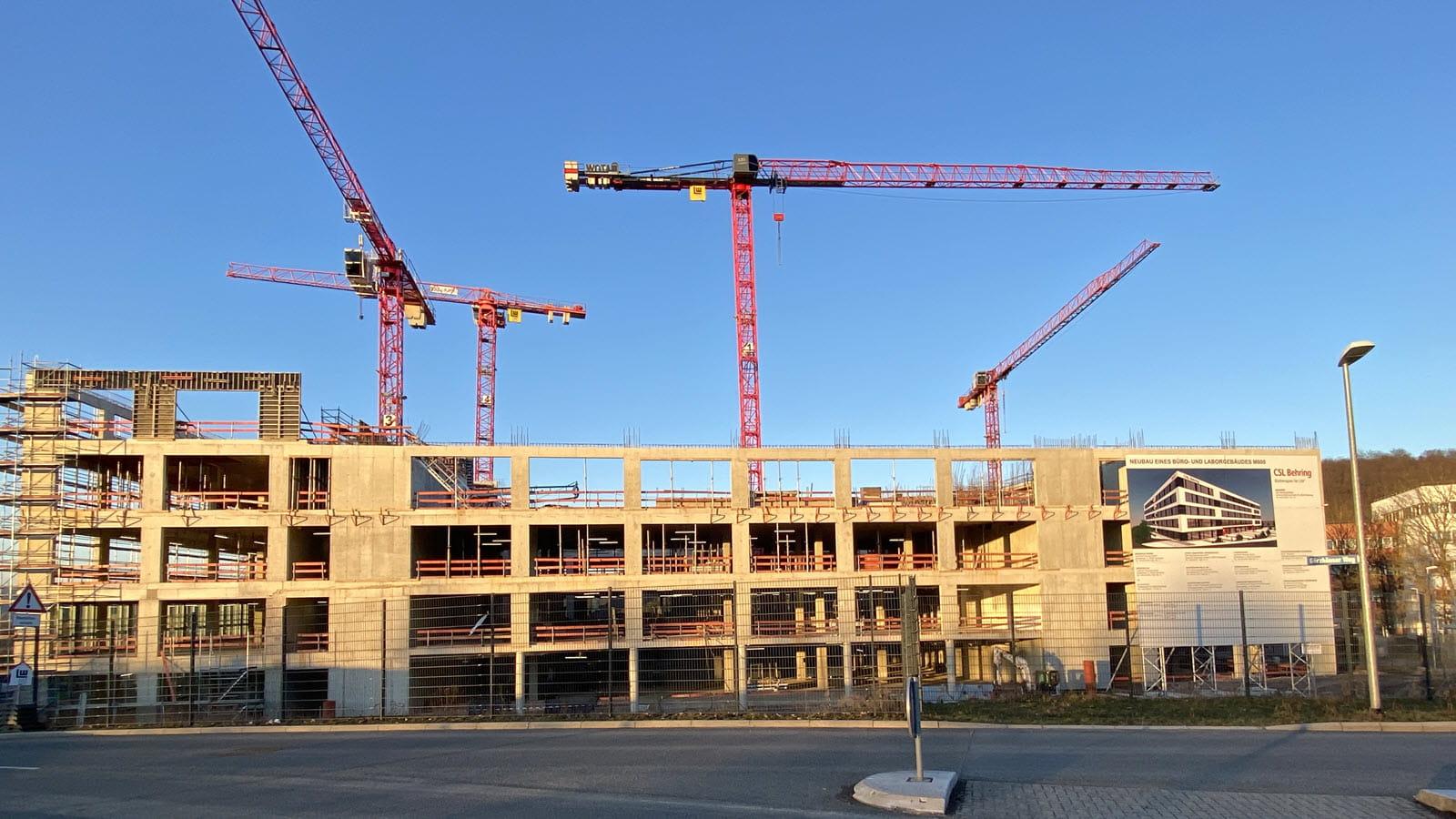 Konstruktion R&D Campus