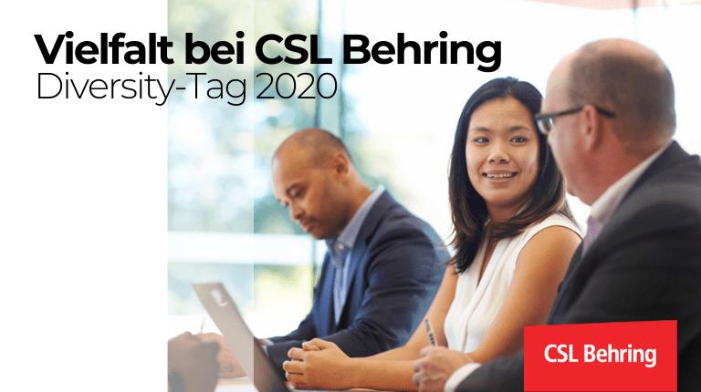 Vielfalt bei CSL Behring