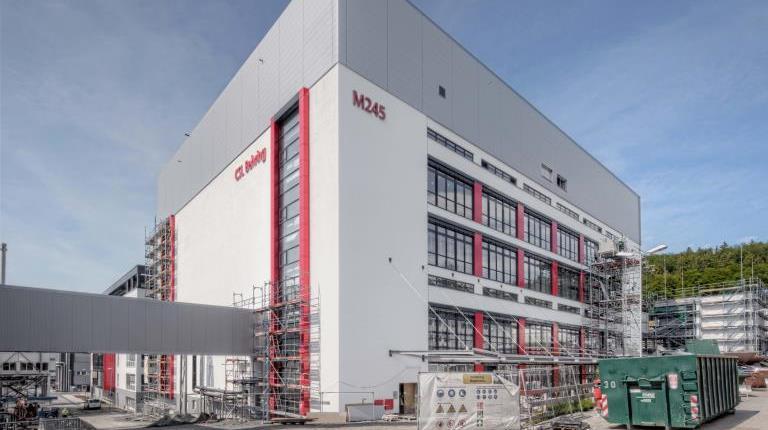 """Das Projekt """"Sphinx"""" ist eine neue Produktionsanlage am Standort Marburg"""