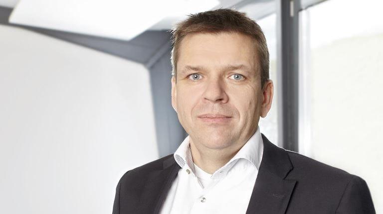 Michael Schröder, Geschäftsführer und Standortleiter von CSL Behring Marburg