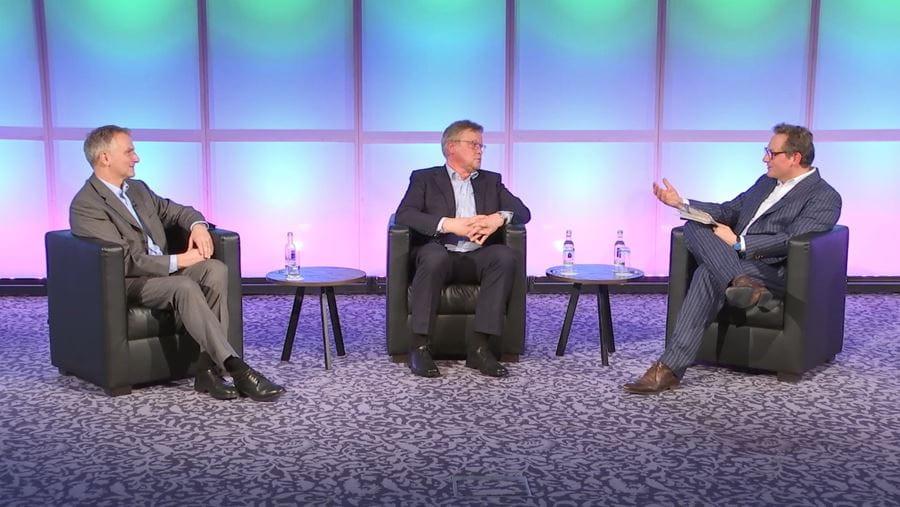 Talkrunde mit Berthold Süsser, Dirk Hoheisel und Eckhart von Hirschhausen