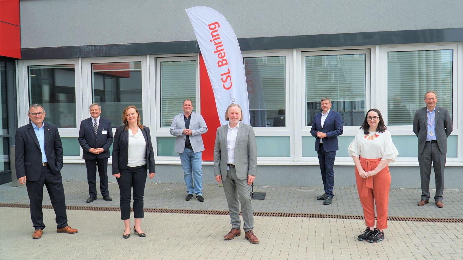 Australischer Botschafter in Deutschland besucht CSL Behring