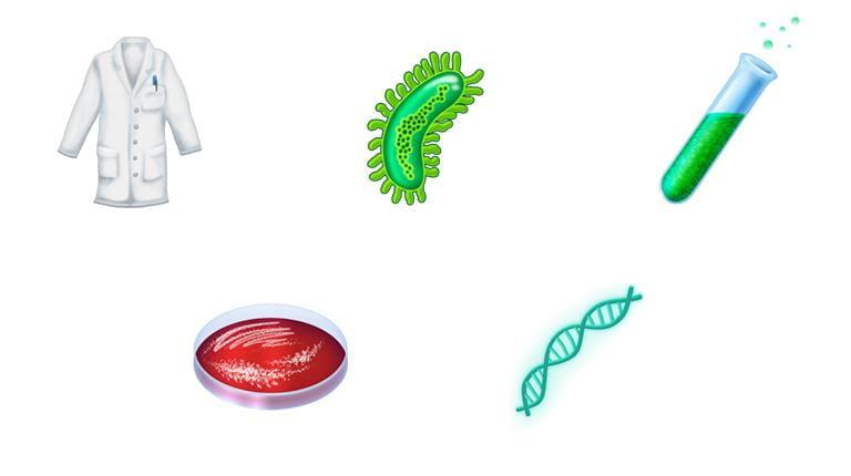 Emojis für Wissenschaftler