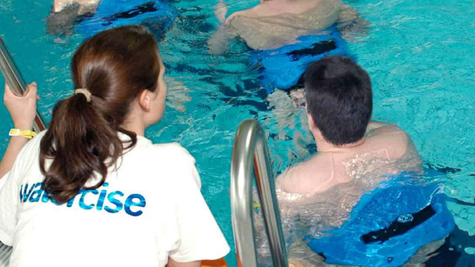 Patienten bei WATERCISE-Übungen